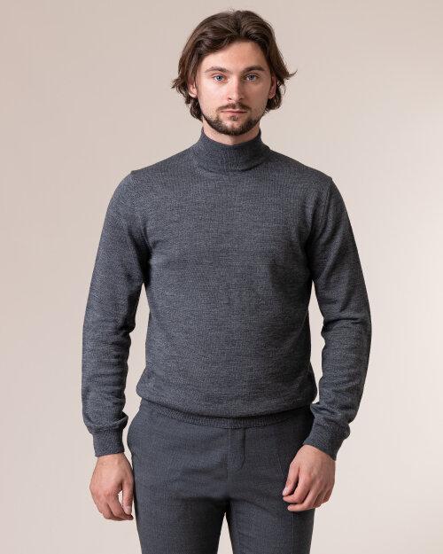 Sweter Philip Louis NOS_05/05/DGR NOS_DK.GRAY szary