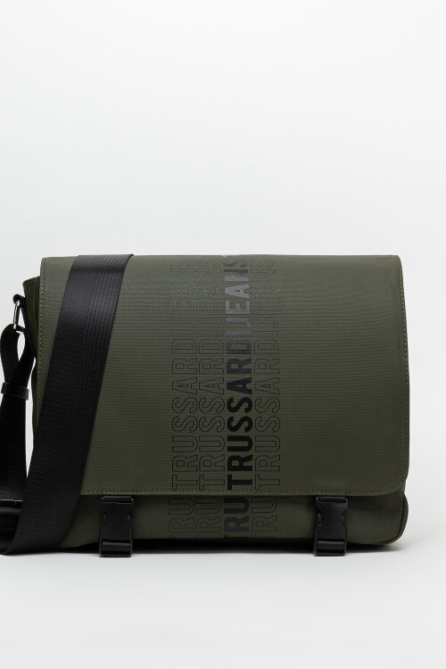 Torba Trussardi Jeans 71B00183_9Y099999_G260 zielony