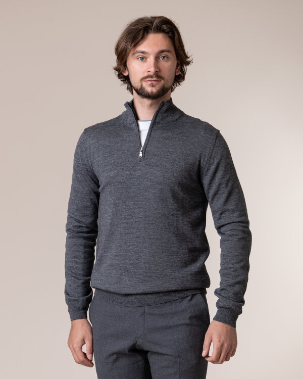 Sweter Philip Louis NOS_03/5/DGR NOS_DK.GRAY ciemnoszary