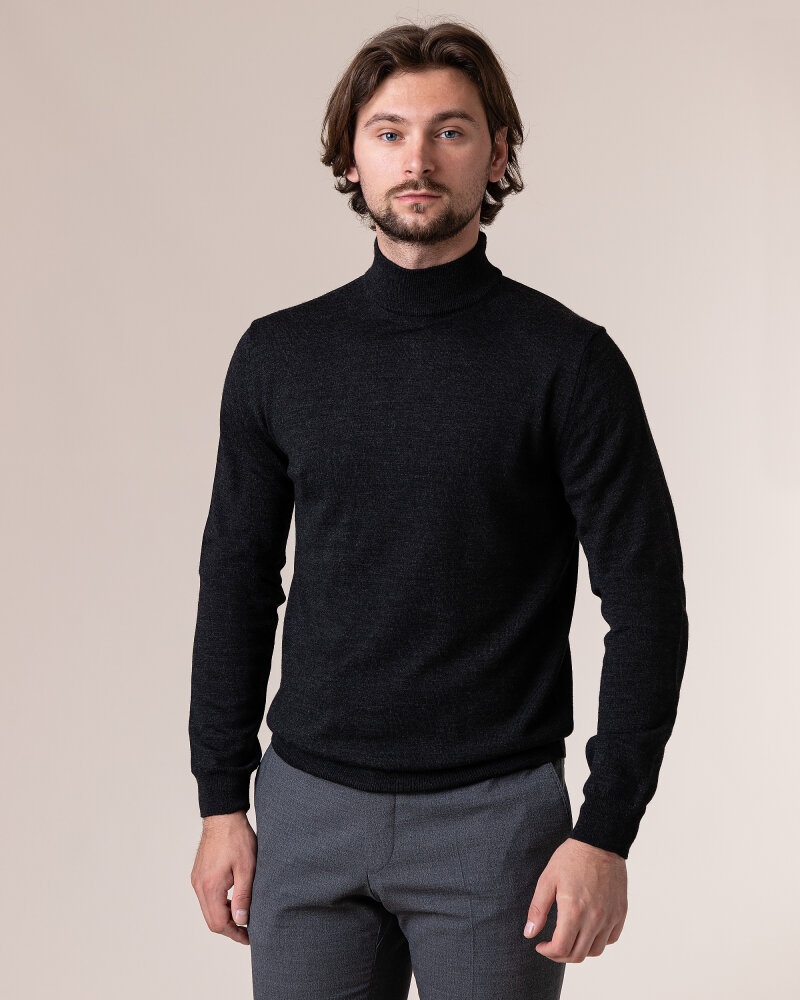 Sweter Philip Louis NOS_05/05/ANY NOS_ANTRACITE ciemnoszary - fot:2