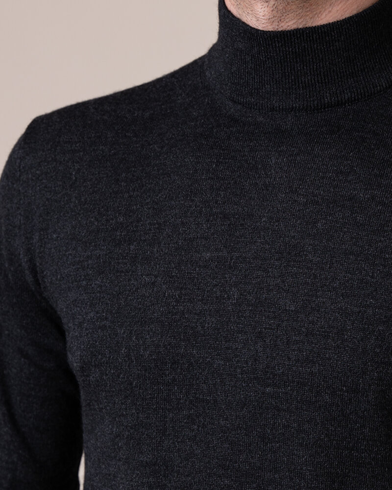 Sweter Philip Louis NOS_05/05/ANY NOS_ANTRACITE ciemnoszary - fot:3