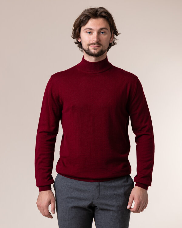 Sweter Philip Louis NOS_05/05/BOR NOS_BORDO bordowy