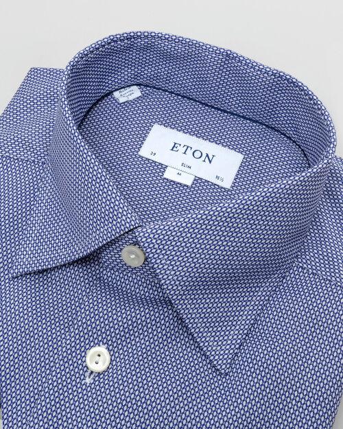 Koszula Eton 1000_00760_27 niebieski