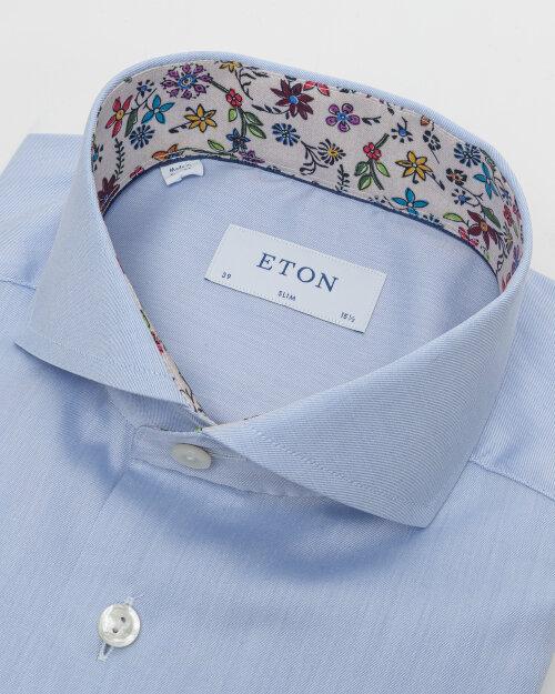 Koszula Eton 1000_00982_21 niebieski