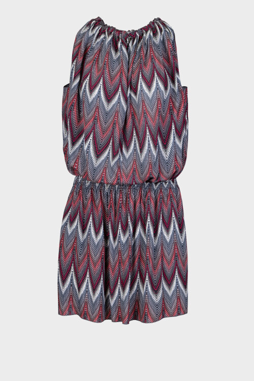 Sukienka Fraternity WL20_W-DRE-0274_COLOR PRINT wielobarwny