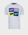 T-Shirt Gas 99325_DHARIS/R LOGOS_0194 szary
