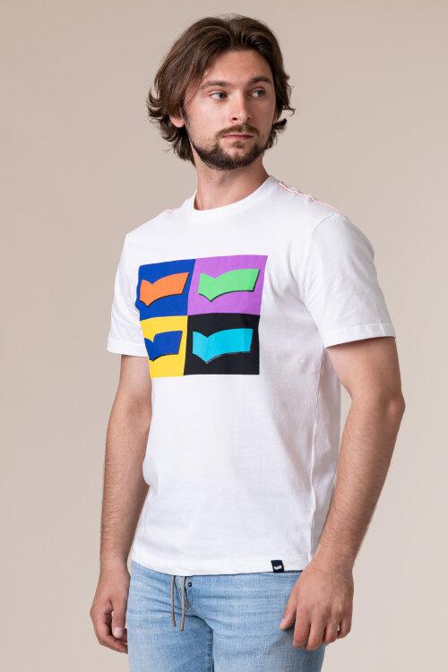 T-Shirt Gas 99325_DHARIS/R LOGOS_0001 biały