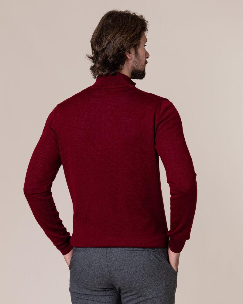 Sweter Philip Louis NOS_03/5/BOR NOS_BORDO bordowy - fot:4