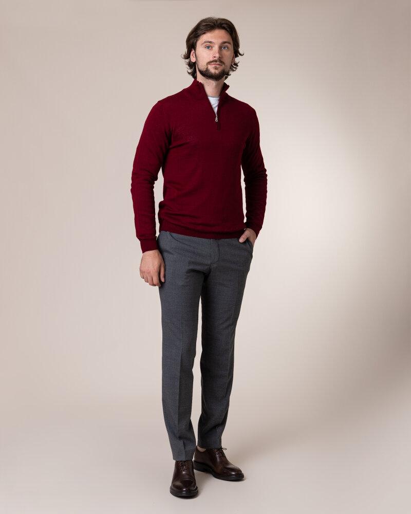 Sweter Philip Louis NOS_03/5/BOR NOS_BORDO bordowy - fot:5