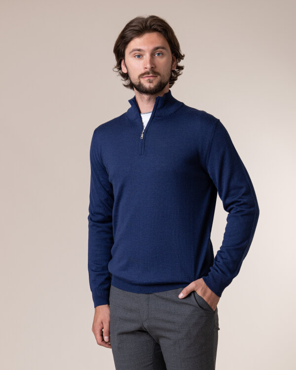 Sweter Philip Louis NOS_03/5/JEA NOS_JEANS szafirowy