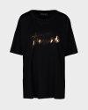 T-Shirt Trussardi Jeans 56T00226_1T003615_K299 czarny