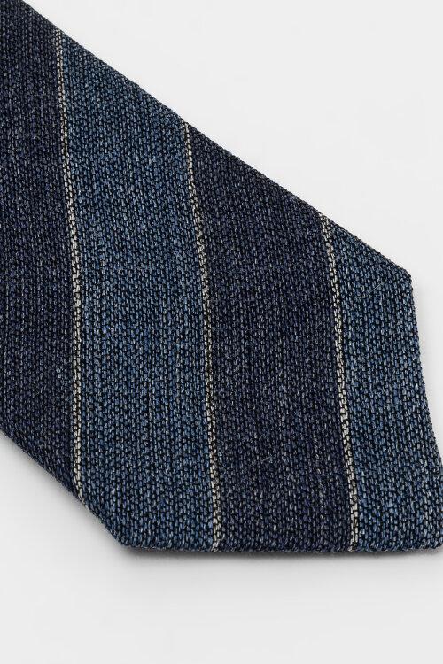 Krawat Eton A000_32353_29 granatowy