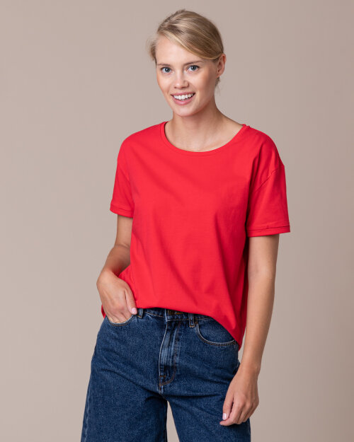 T-Shirt Camel Active 3T51309445_50 czerwony