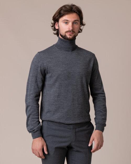 Sweter Philip Louis NOS_04/5/DGR NOS_DK.GRAY szary