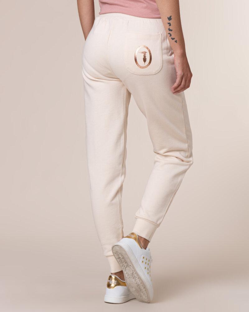 Spodnie Trussardi Jeans 56P00215_1T002268_W052 Kremowy Trussardi  56P00215_1T002268_W052 kremowy - fot:4