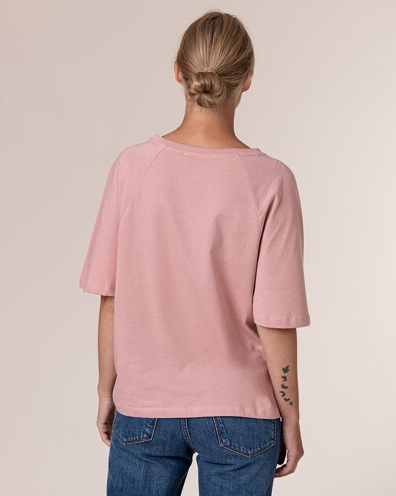 T-Shirt Trussardi Jeans 56T00279_1T003062_P073 Różowy Trussardi  56T00279_1T003062_P073 różowy - fot:4