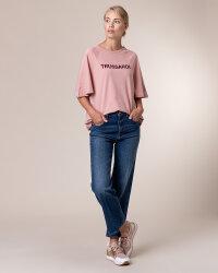 T-Shirt Trussardi Jeans 56T00279_1T003062_P073 różowy- fot-4