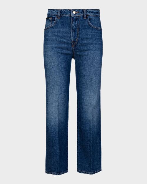 Spodnie Trussardi  56J00105_1T004375_U255 niebieski