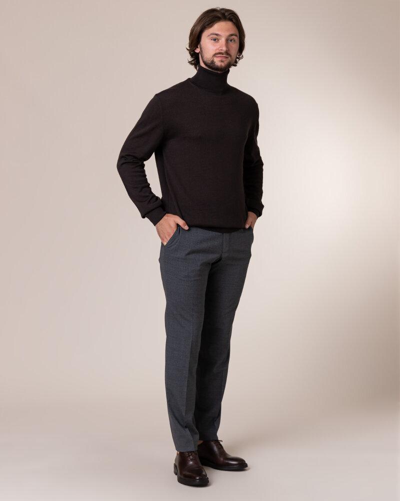 Sweter Philip Louis NOS_04/5/BRN NOS_BROWN brązowy - fot:5