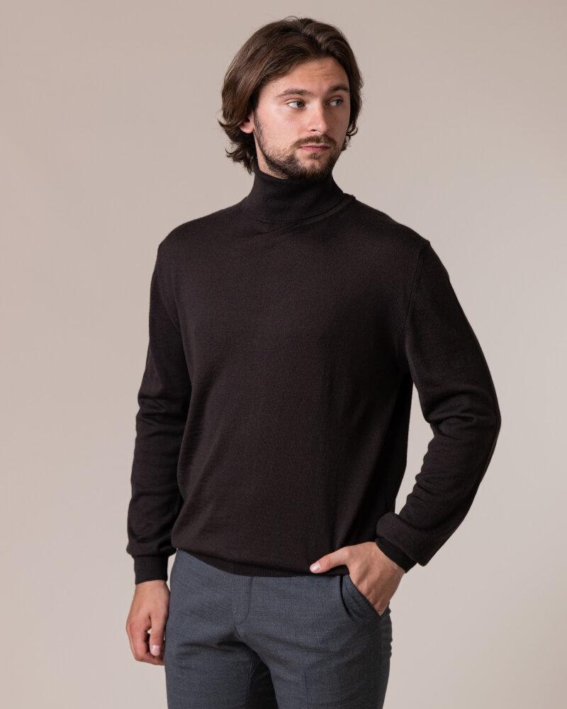 Sweter Philip Louis NOS_04/5/BRN NOS_BROWN brązowy - fot:2