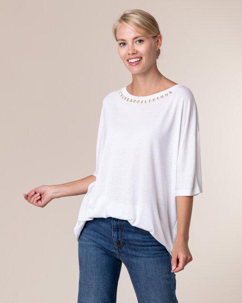 T-Shirt Trussardi  56T00288_1T004253_W001 biały
