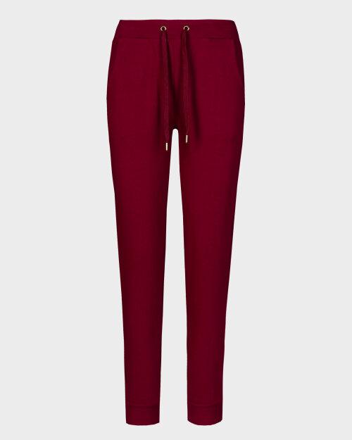 Spodnie Trussardi  56P00215_1T002268_R160 bordowy