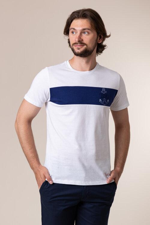 T-Shirt Navigare NV31117_005 biały
