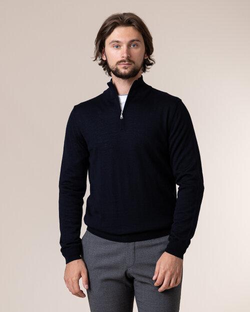 Sweter Philip Louis NOS_03/5/NAV NOS_NAVY granatowy