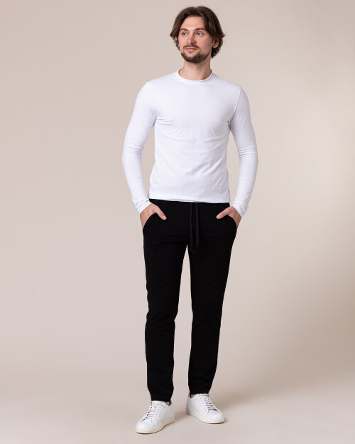 Spodnie Philip Louis NOS_M-TRO-0032 NOS_BLACK czarny