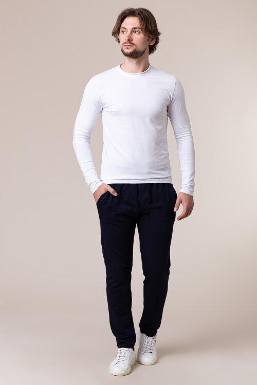 Spodnie Philip Louis NOS_M-TRO-0032 NOS_NAVY granatowy