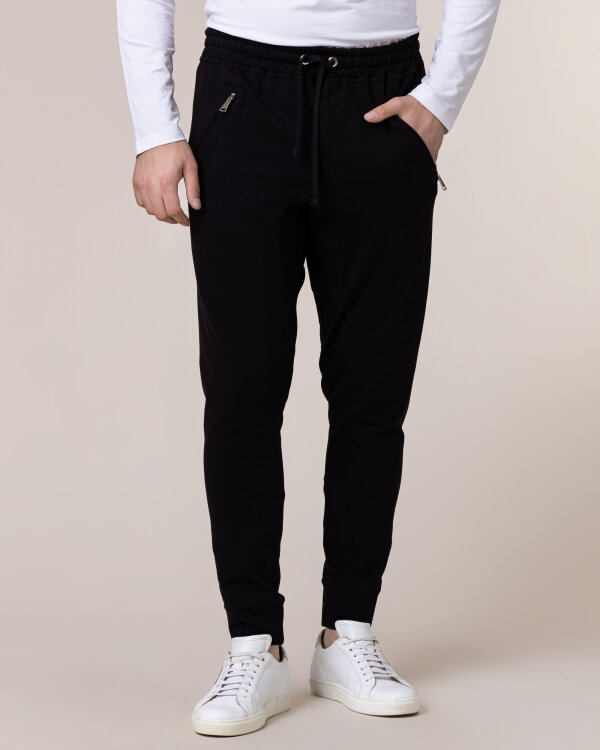 Spodnie Philip Louis NOS_M-TRO-0033 NOS _BLACK czarny