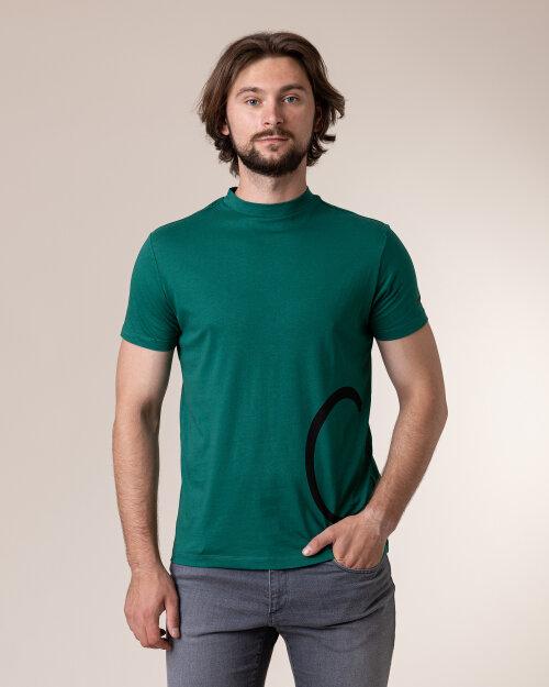 T-Shirt Trussardi  52T00372_1T001675_G285 zielony