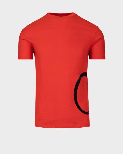 T-Shirt Trussardi  52T00372_1T001675_R007 pomarańczowy