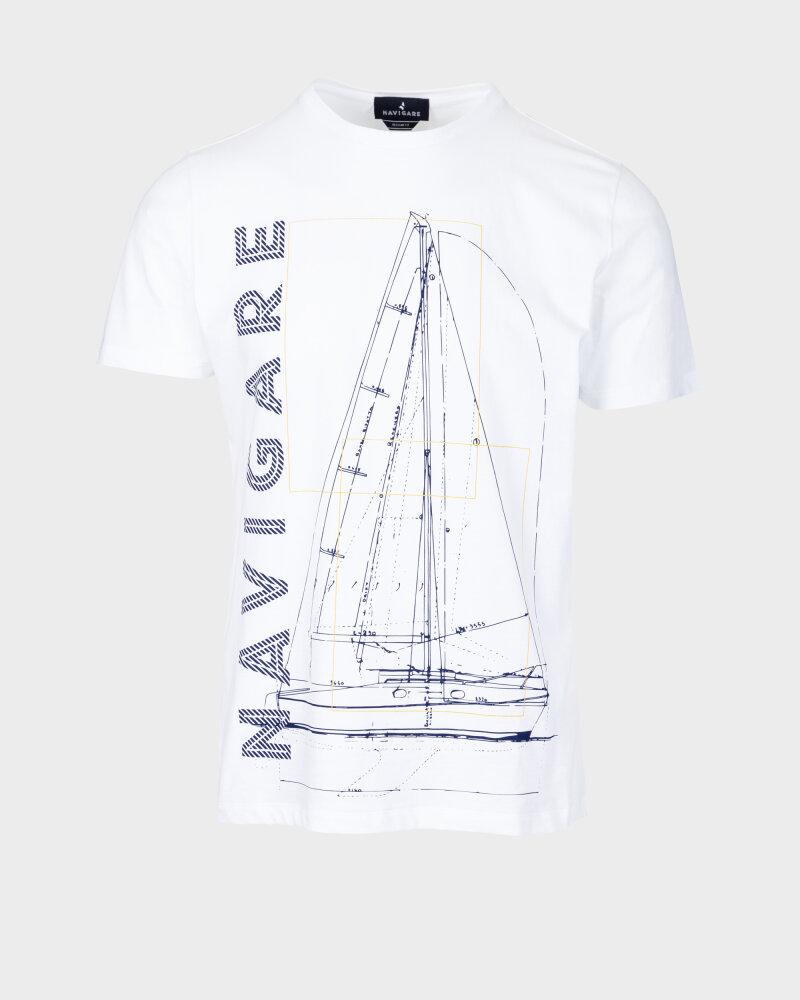 T-Shirt Navigare NV31109_005 biały - fot:1