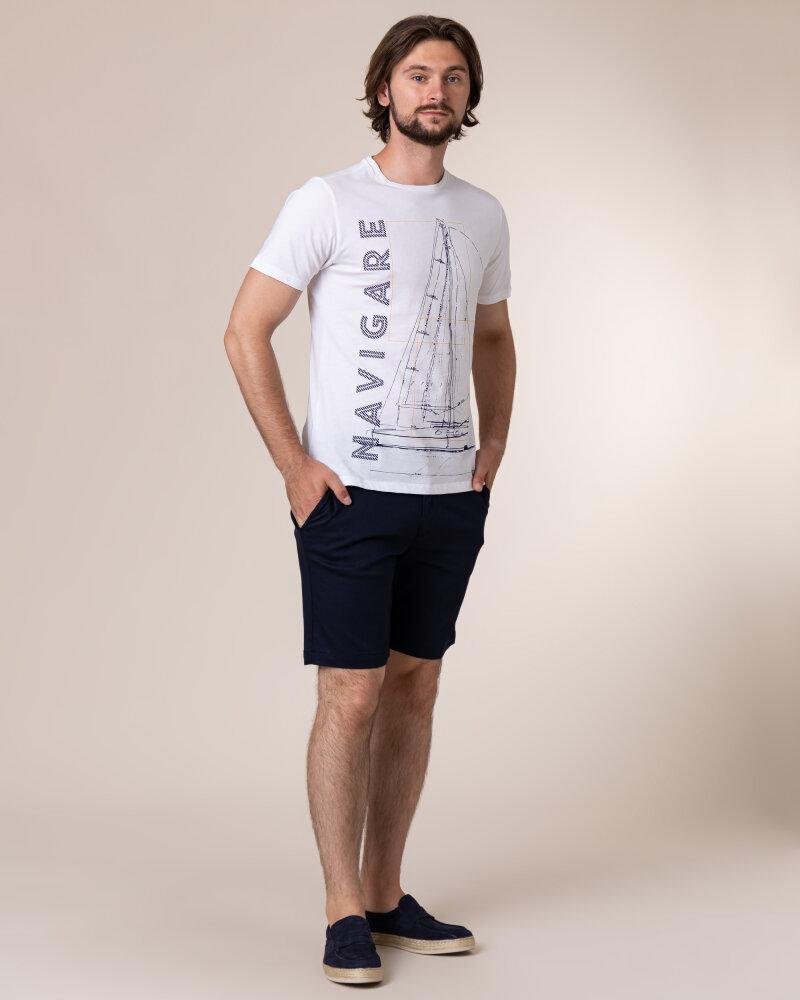 T-Shirt Navigare NV31109_005 biały - fot:5