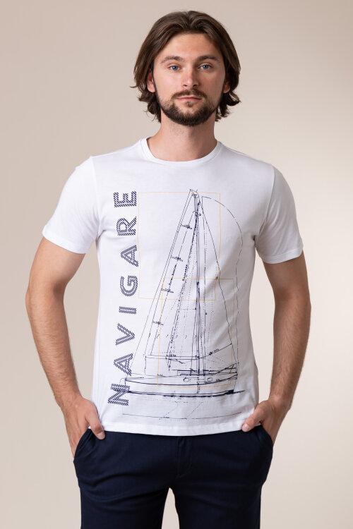 T-Shirt Navigare Nv31109_005 Biały Navigare NV31109_005 biały