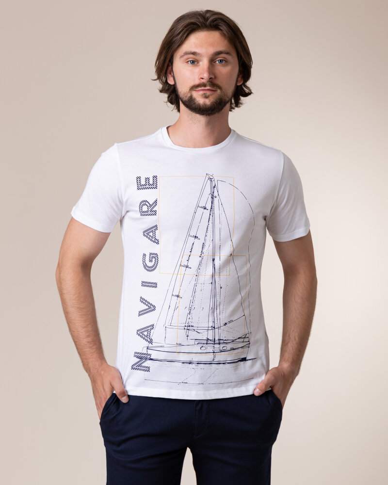T-Shirt Navigare NV31109_005 biały - fot:2