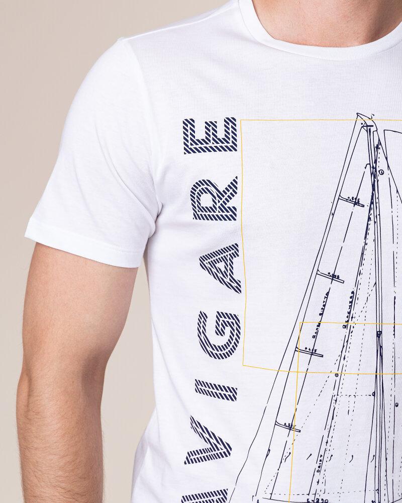 T-Shirt Navigare NV31109_005 biały - fot:3