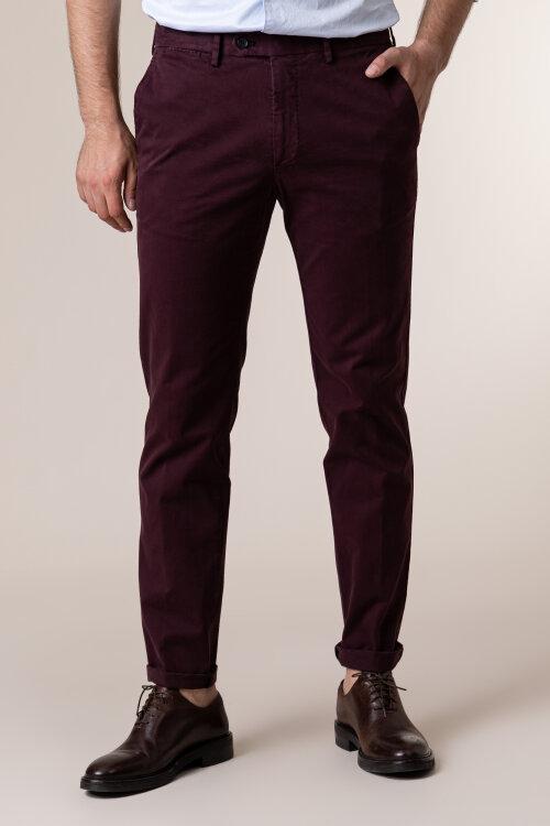 Spodnie Oscar Jacobson DANWICK 5176_4305_601 bordowy