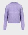 Sweter Iblues 73661606_DOUGLAS_032 fioletowy