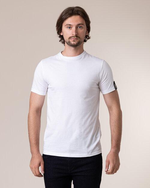 T-Shirt Trussardi Jeans 52T00400_1T001675_W001 Biały Trussardi  52T00400_1T001675_W001 biały