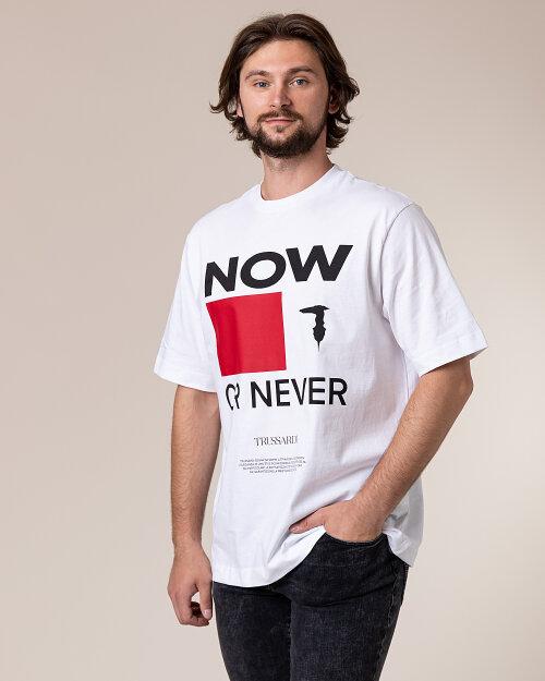 T-Shirt Trussardi  52T00384_1T003076_W001 biały