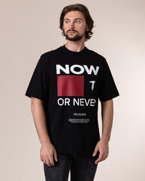T-Shirt Trussardi  52T00384_1T003076_K299 czarny