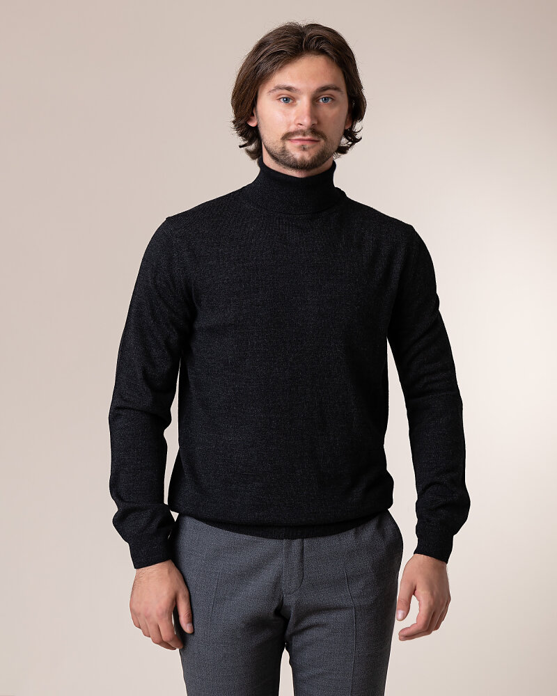 Sweter Philip Louis NOS_04/5/ANT NOS_ANTRACITE ciemnoszary - fot:2