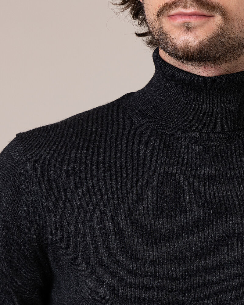 Sweter Philip Louis NOS_04/5/ANT NOS_ANTRACITE ciemnoszary - fot:3