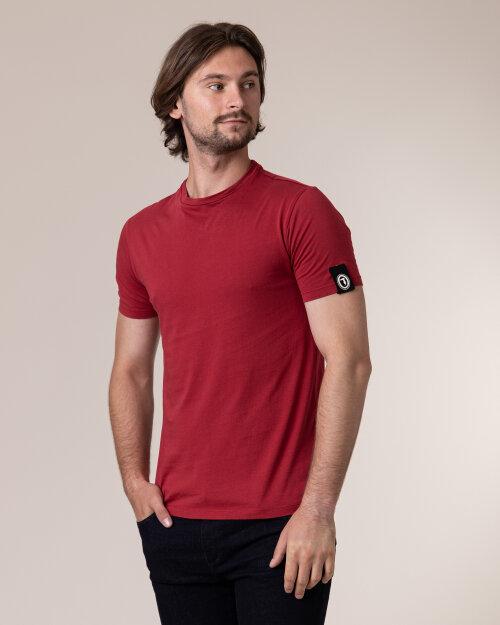 T-Shirt Trussardi  52T00400_1T001675_R010 czerwony