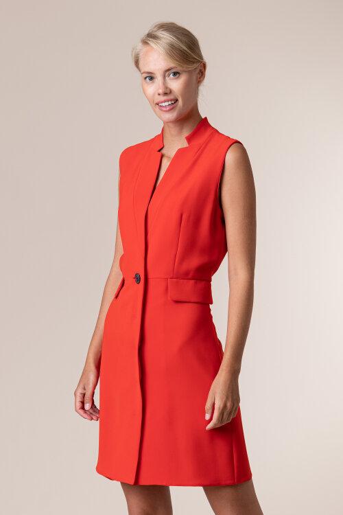 Sukienka Iblues 72261506_ARAGONA_0041089 czerwony