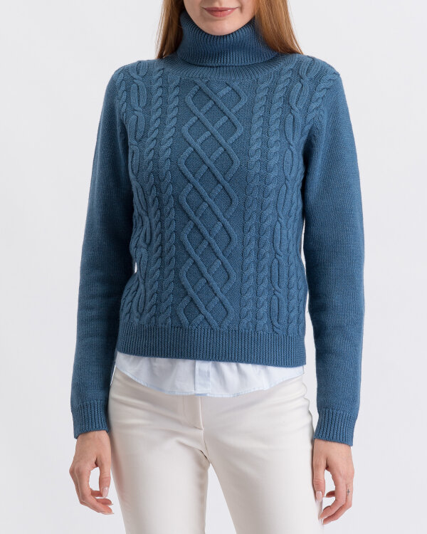 Sweter Stenströms 450064_2777_160 niebieski