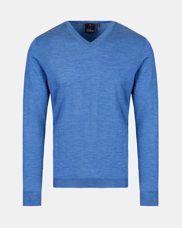 Sweter Oscar Jacobson UNO 6909_8023_259 niebieski