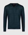 Sweter Oscar Jacobson UNO 6909_8023_832 zielony